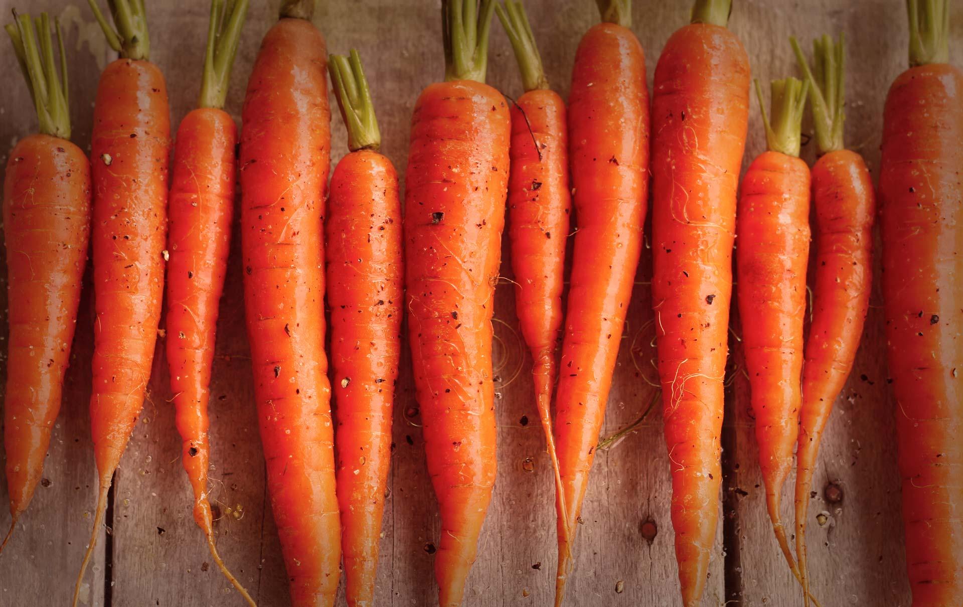Você sabe como são feitas</br>as mini cenouras?