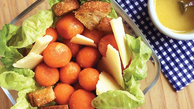 salada de cenoura balls