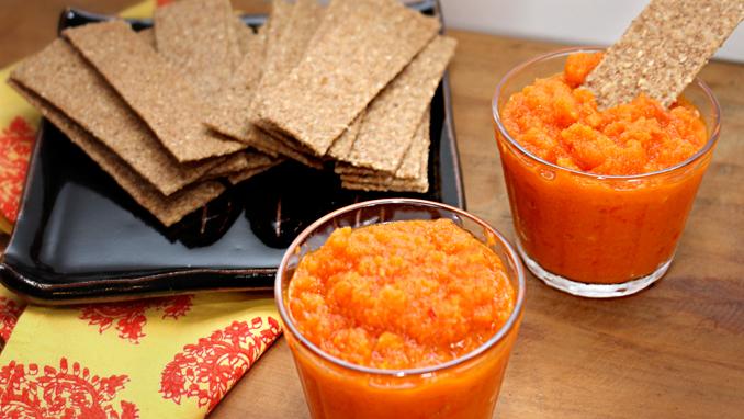patê de cenoura